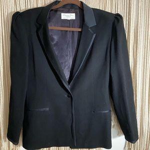 Gorgeous vintage Christian Dior tuxedo jacket. XL